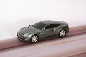 Bond Secret Agent Aston Martin Vanquish
