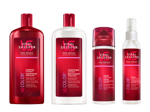Vidal Sassoon Pro Series Color Collection Group Shot