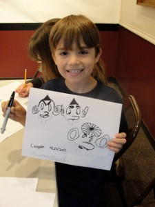 Kids Krazy Kraft Days - Cartooning #2