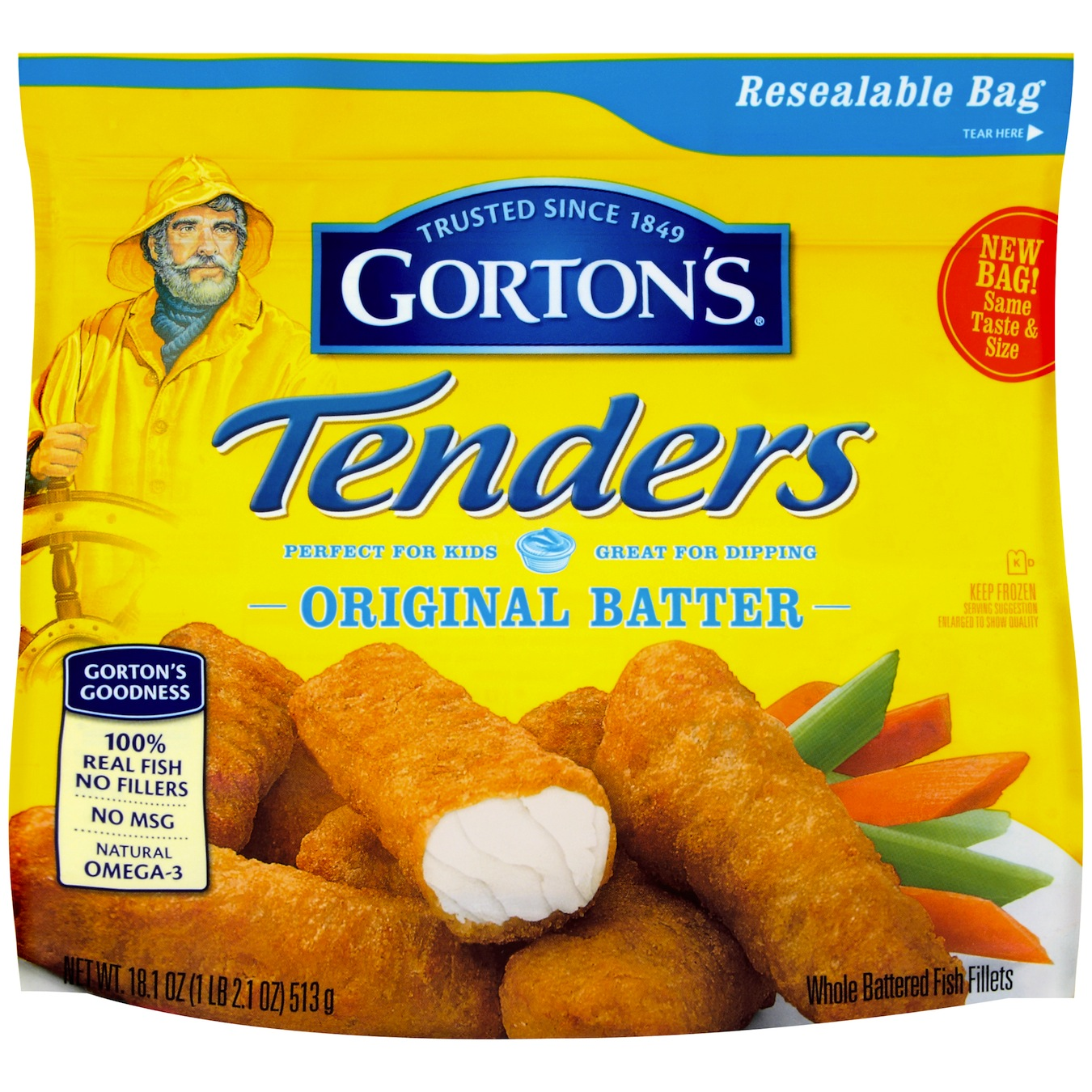 Gorton s wicked good seafood giveaway opportunity for Gortons fish sticks