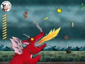 Dragon loves chips_ipad_sm
