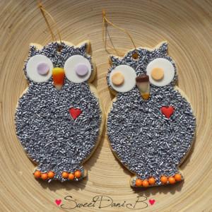 SDb Halloween Owl Cookies