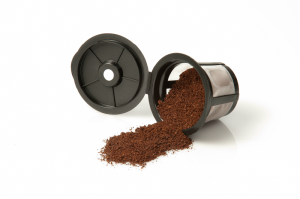 E-filter spilling coffee small