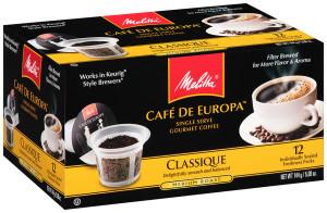 Melitta Café de Europa™ Single Serve Gourmet Coffee (box)