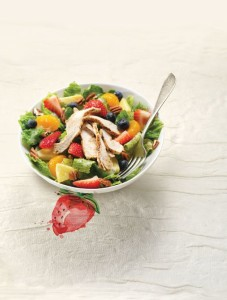 Strawberry Poppy Salad