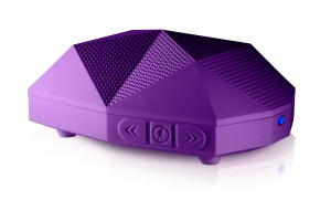 OT1800-P-Wireless Boombox-TURTLE SHELL 2-Purple-Profile View-6144x4096