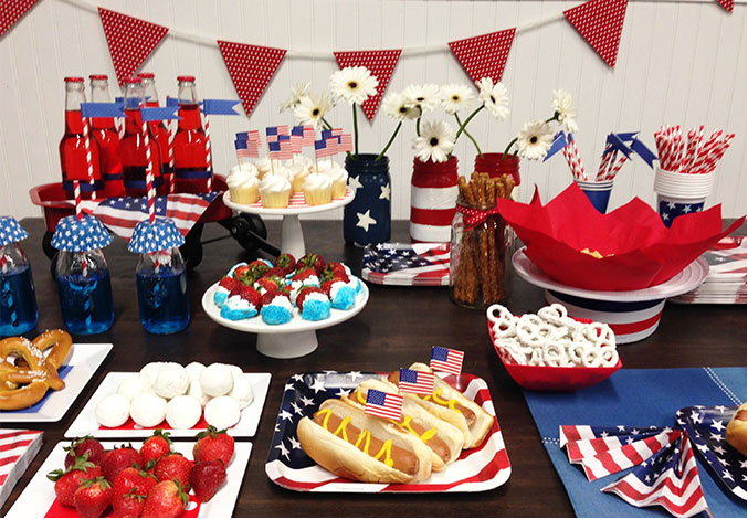 Planning 4th of july party let celebrate express help for 4th of july party decoration