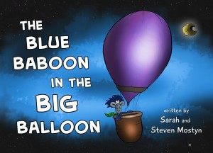 Book Cover - The Blue Baboon in the Big Balloon
