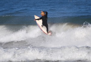 Vince Felix Surfing