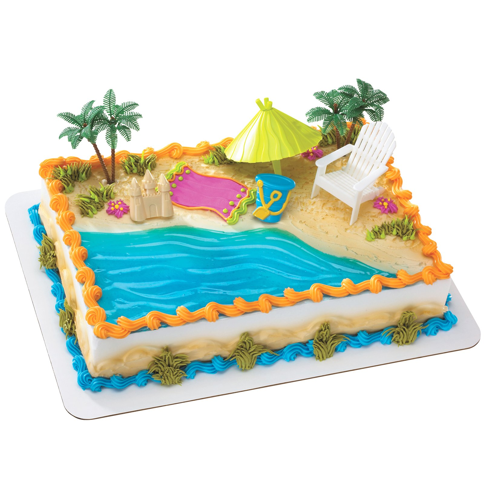 Cake Decorations For Birthday Party : Celebrate Summer Birthdays with Birthdayexpress.com