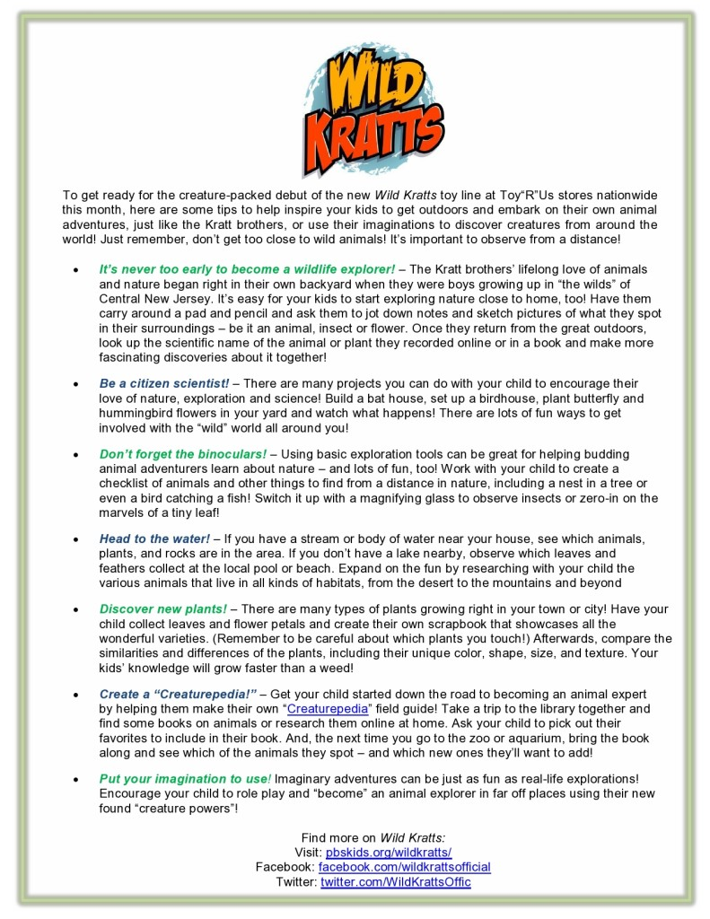 Wild Kratts Tips - Final