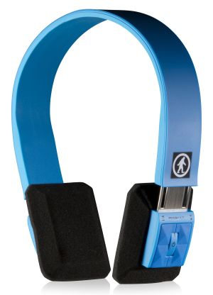 OT1101-Wireless Headphones-DJ SLIMS-Blue-Right 3nÇó4 View-3384x4693