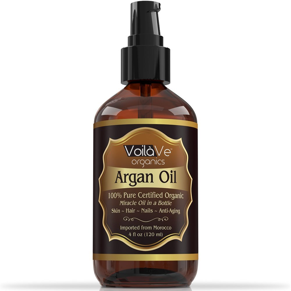 organic argan oil for hair face by voilave a must have for hair and body. Black Bedroom Furniture Sets. Home Design Ideas