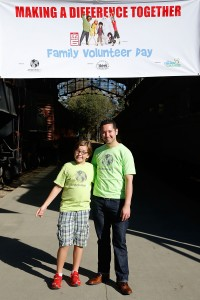 generationOn And Disney Friends For Change Inspire Kids & Teens To Come Together In Service For Family Volunteer Day At Travel Town Museum