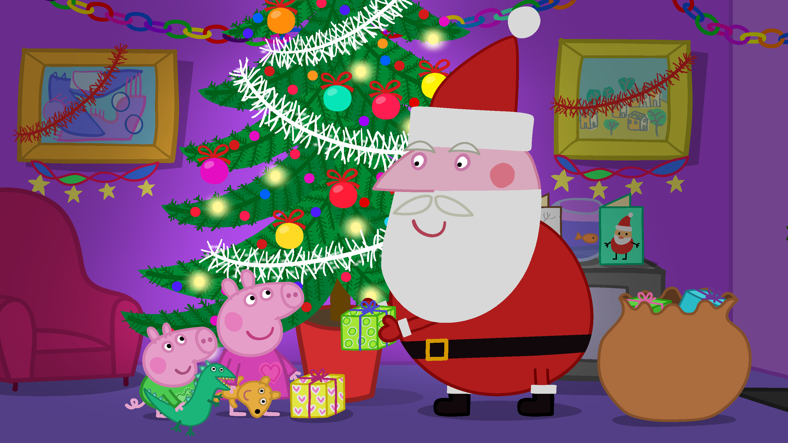 New Peppa Pig DVD For The Holidays Peppas Christmas