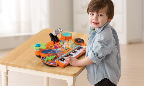 Open Up a World of Learning Fun with VTech® Toys! <small class=