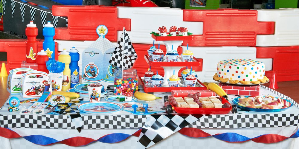 Birthday express for all your children s birthday themes looking for video game themed party Game decoration