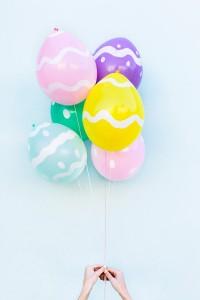 DIY Easter Egg Balloons2