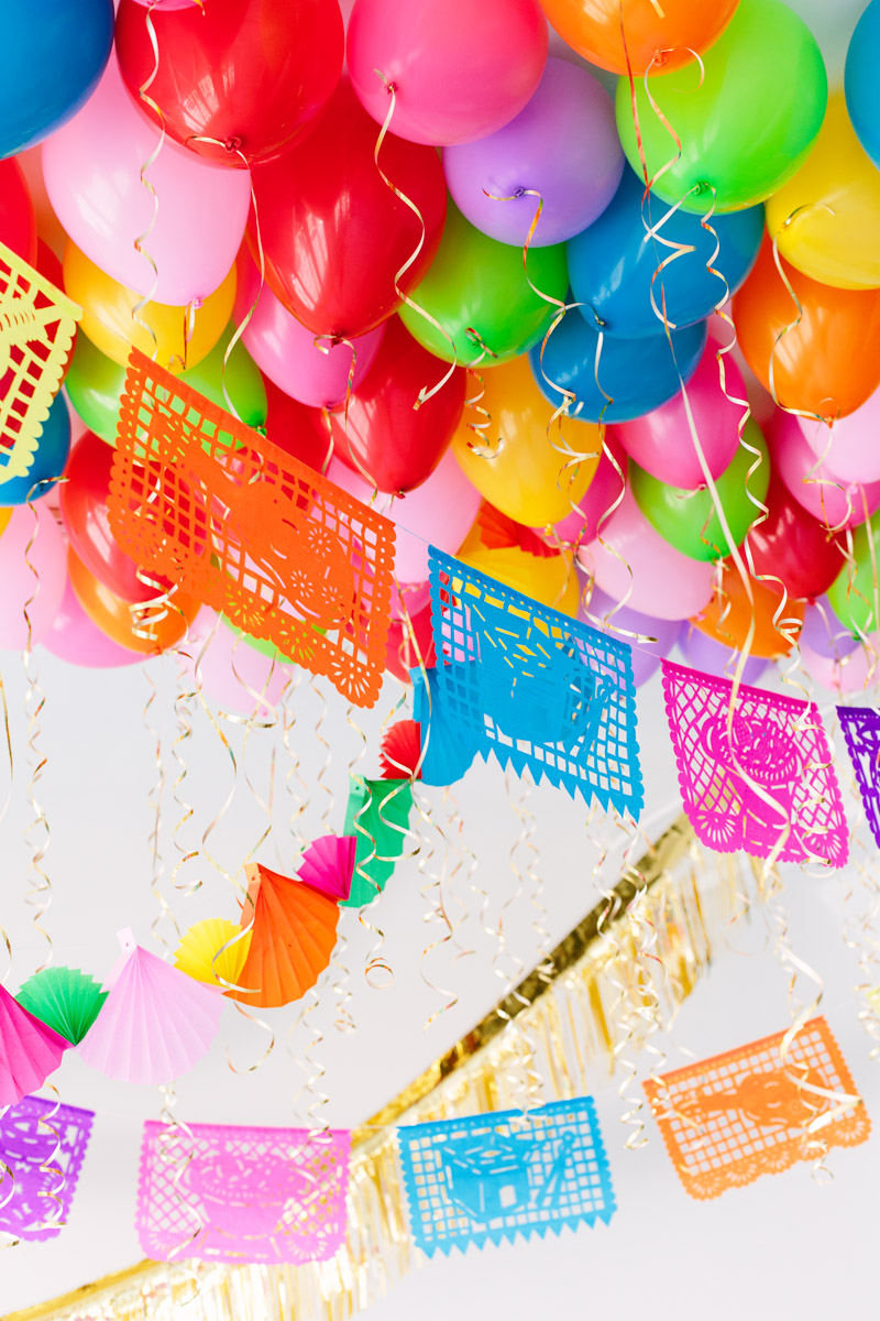 Diy party ideas from balloon time for cinco de mayo it 39 s - Decoracion cumpleanos adultos en casa ...