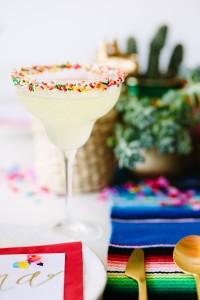 DIY Sprinkle Margarita