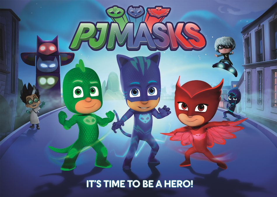Pj Mask Cartoon | hairstylegalleries.com
