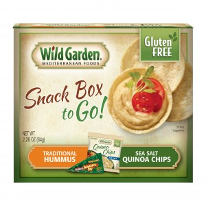 Traditional Hummus-Sea Salt Quinoa Chips