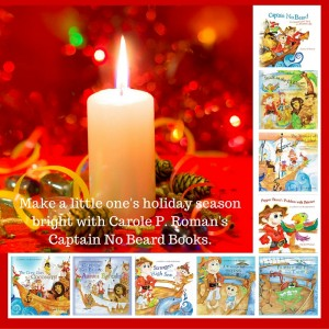 Make a little one's holiday season bright with Carole P. Roman's Captain No Beard Books.