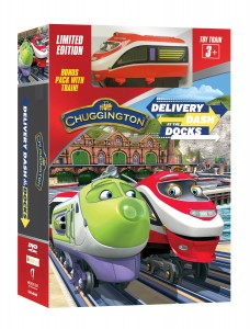 Dash At The Docks Box with Train 3D
