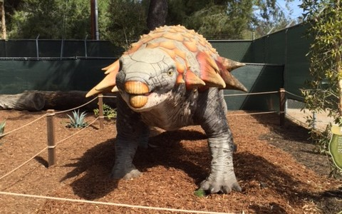 DINOSAURS: UNEXTINCT AT THE L.A. ZOO EXHIBIT is a Must-Visit! <small class=