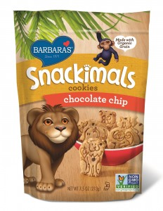 Barbara's Snackimals Cookies - Chocolate Chip