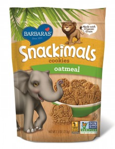 Barbara's Snackimals Cookies - Oatmeal