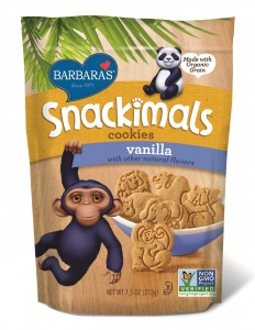Barbara's Snackimals Cookies - Vanilla