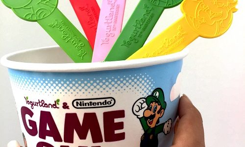 Nintendo-Inspired Flavors and Beloved Characters Spread Delicious Fun Across U.S. at Local Yogurtland Locations!