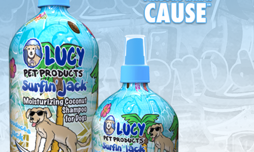 Surfin&#8217; Jack Shampoo and Conditioner by Lucy Pet Products <small class=