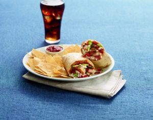 Grilled Shrimp Bacon Burrito