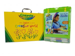 Crayola Inspiration Art Case & Color Wonder
