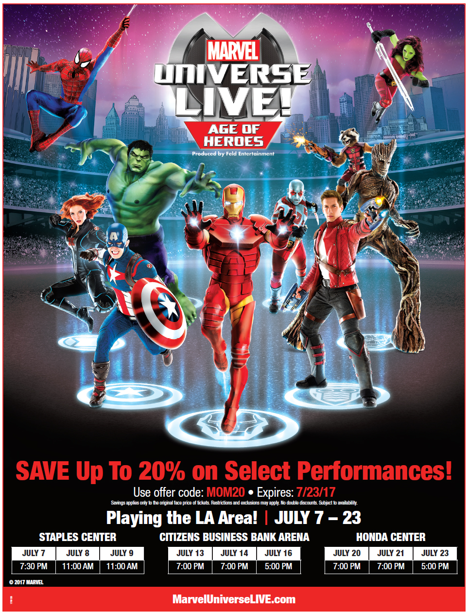 Marvel Universe Live! MOM Discount