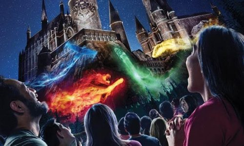 "Universal Studios Hollywood Casts a Dazzling Spell on ""The Wizarding World of Harry Potter"" with Its All-New ""The Nighttime Lights at Hogwarts Castle,"" Beginning June 23"