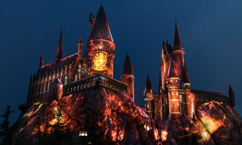 Universal Studios Hollywood Casts a Dazzling Spell on &#8220;The Wizarding World of Harry Potter&#8221; with an All-New Summertime Enhancement, &#8220;The Nighttime Lights at Hogwarts Castle.&#8221; <small class=