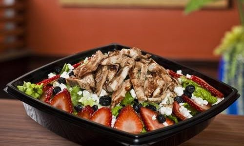 The Habit Burger Grill Celebrates Summer with the Return of the Delicious Strawberry Balsamic Chicken Salad <small class=