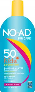 NO-AD Kids Sun Care SPF 50 Lotion