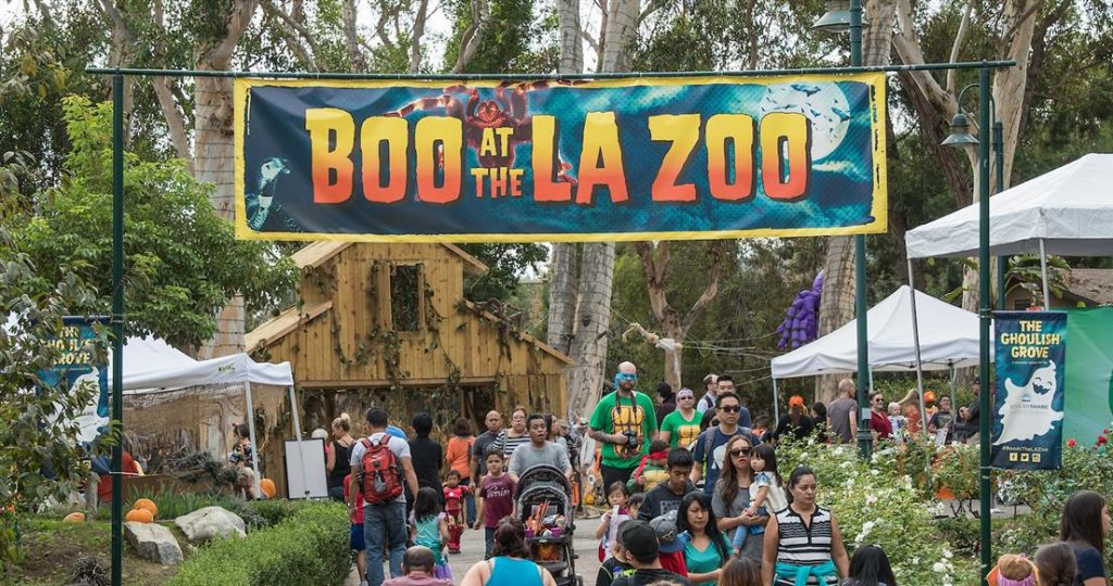 Boo At The La Zoo Features Fang Tastic Spooktacular Learning Fun Throughout October October