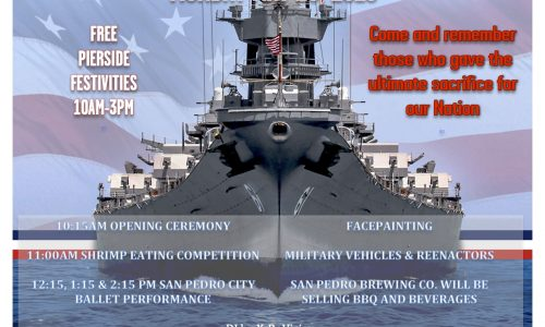 Memorial Day Event – Battleship IOWA – San Pedro