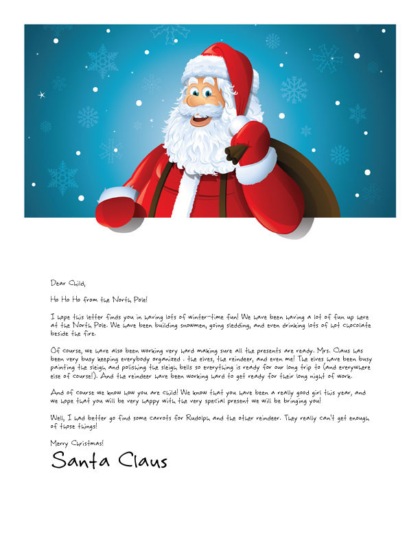 Letters From Santa: Holiday Giveaway Opportunity!