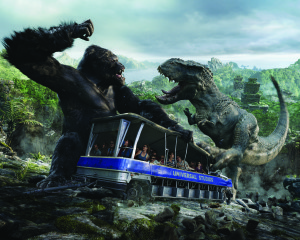 King Kong 360 3D-Tram