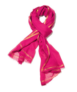 bold and bright scarf