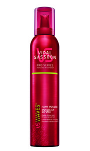 Vidal Sassoon Pro Series Waves Foam Mousse