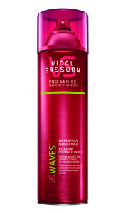 Vidal Sassoon Pro Series Waves Hairspray