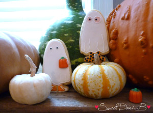 SDB Halloween 13 ghosts on pumpkins