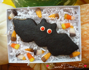 SDB Halloween Peanut Butter vampire bat